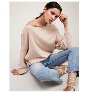 Free People | Asymmetrical Neck Sweater